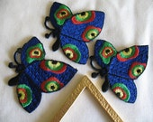 IRON ON BUTTERFLY  Appliques .