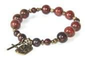 Saint Francis of Assisi Chaplet Bracelet - Wrist Rosary