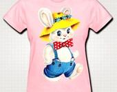 Cute White Rabbit T-shirt