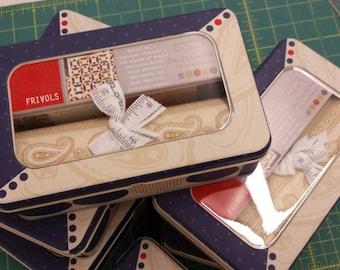 Frivols No. 2...featuring Polka Dots & Paisley by minick and simpson moda fabrics