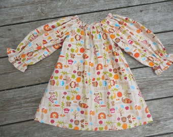 Fall 2015 Girl's Infants Toddlers Autumn Harvest Peasant Dress