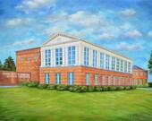 Fine Art Print- Lowder Science Building, Historic Judson College, Marion, Alabama