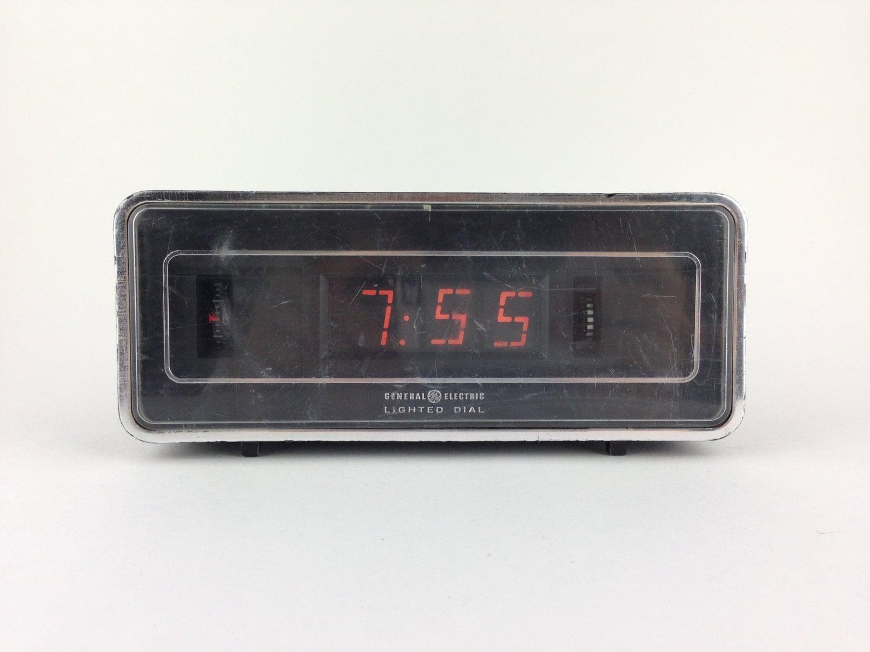 general electric flip alarm clock plug in singapore. Black Bedroom Furniture Sets. Home Design Ideas