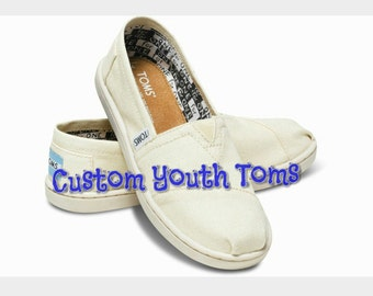 Custom Youth Toms. price includes shoes