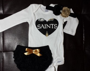 Boutique Saints Bloomers Set