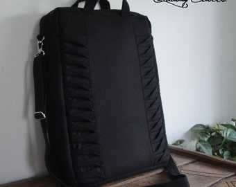 16,5'' x 12 ''x 4'' in Stock Laptop bag with 7 interior Pockets - Laptop COMPARTMENTS super Padded - Bag FullyPADDED - WATERPROOF lining