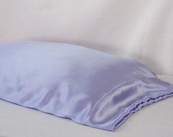 100 Pure Silk Pillowcase Deep Purple Standard Or King Sizes