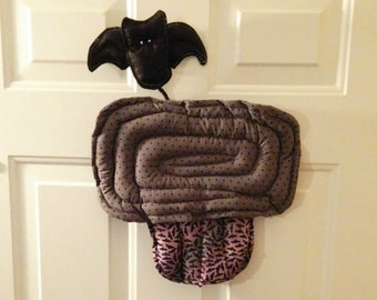 Fall Halloween Bat Cupcake Wall Door Hanging Decoration Shweet Potato Dolls