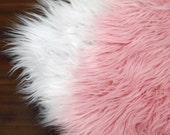 READY TO SHIP Faux Furs, Newborn Photo Props, Set of 2 or Large Faux Fur Fabric, Newborn Basket Stuffers, Photography Props, Fur Blanket