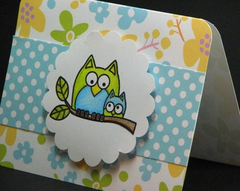 Happy Birthday To Whoooo Greeting Card