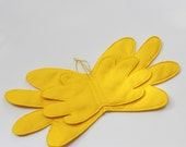 Sunset Shimmer pony Wings - Yellow Wings - Sunset Shimmer Wings - Felt wings for kids - My little pony accessories