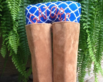Florida Boots Up by Endear Me Handmade boot stuffer Collegiate Gators - closet organizer; boot trees