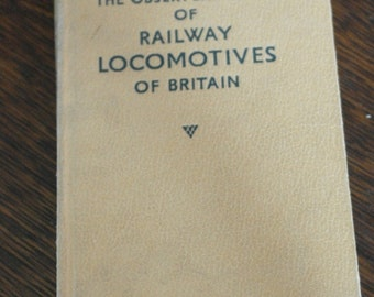vintage the observers book of railway locomotives of britain