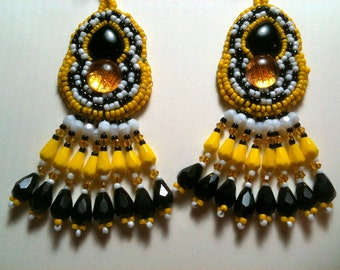 Big Yellow Taxi Earrings