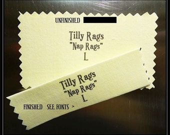 YELLOW, Sewing Labels,Handmade in USA, 10 per order/ Sew in Fabric Clothing Labels,Cotton,SizeTags