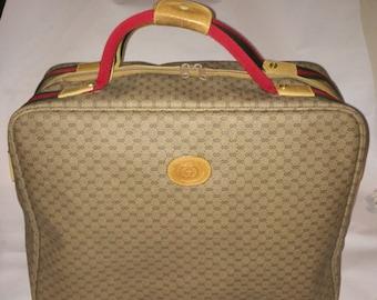 Vintage Gucci luggage weekender EUC