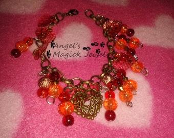 Love of the Fire Bracelet.
