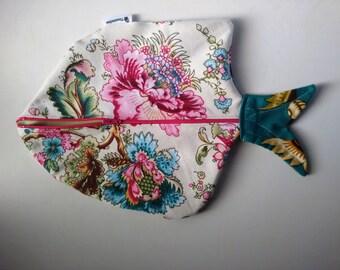Diaper bag, Fish diaper bag, Makeup Bag