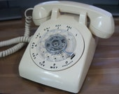 Bell system rotary desk telephone. Made by Western Electric. WORKS perfectly.