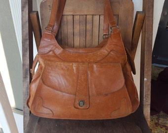 MASALVA     ///      Leather VTG Worn Bag