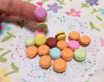10 tiny Macaron clay mix colors