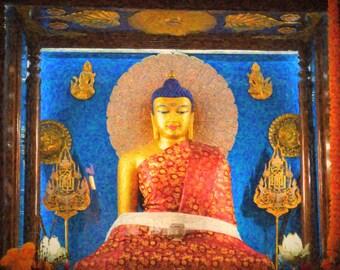 Buddha, Mahiboddhi temple