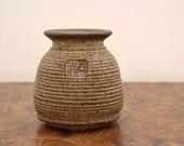 Stoneware / Earthenware Studio Pottery Vase