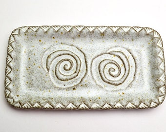 Southwest Swirl Rectangular Plate