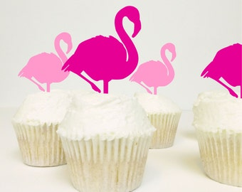 Flamingo Food Picks - Pack of 3