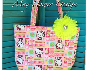 Pink Hello Kitty Tote Bag
