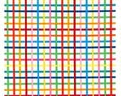 Remix Bright Grids from Robert Kaufman's Rainbow Remix Collection by Ann Kelle