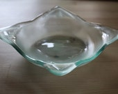 Recycled Glass Square Bowl