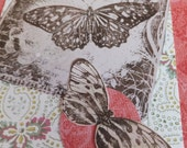 Pretty Butterfly Cards, Thinking of You, Set of 3