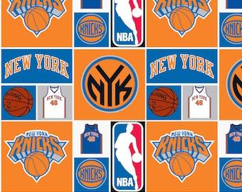 NBA Knicks Cotton Fabric by the yard