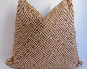 Salmon Pillow Cover, Pillow cover, Camel Pillow, Cross Pillow, Camel Pillow, Salmon Pillow, Decorative Pillow, Accent Pillow,Designer Pillow