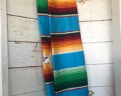 """Colorful and vibrant """"Mexican Serape"""" infinity scarf"""