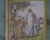 Bible Friends Childrens Book 1954 illustrated  Warner Press
