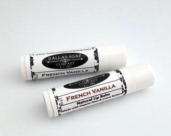 French Vanilla Lip Balm - Gluten Free