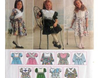 Girl Dress Pattern Robe Simplicity 9297