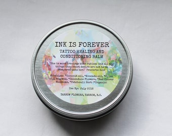 INK IS FOREVER Tattoo Healing and Conditioning Balm-4oz