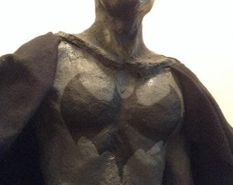 Batman / handmade Batman figurine / fan art / Batman memorabilia art