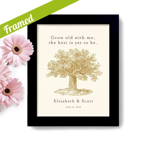 Engagement Gift Personalized Unique Wedding Gift for Couples Tree ...
