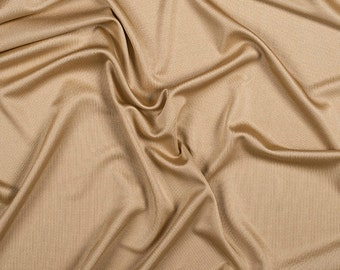"""54"""" Wide 100% Silk Knit Jersey Gold by the yard"""
