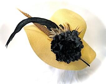 Honey Derby Hat Fall Hats High Fashion Fall Women's Hat DH-106