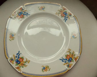 Vintage Maddock, England, Ironstone Dishes, Plate, Dinner Plate, Royal Cameronian