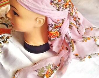 SALE--GYPSY SCARF -Turkish head scarf -yazma -summer scarf-bohemian head scarf