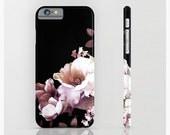 Floral Phone Case, Flowers, ArtBJC Phone Case, iPhone Case, iPhone 6 Case, Mobile Accessories, 6s, 5s, iPhone SE, Pink, Black, Bouquet, 196
