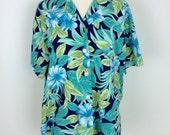 Vintage womens hawaiian shirt