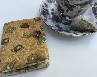 Teacup Travel Tea Wallet