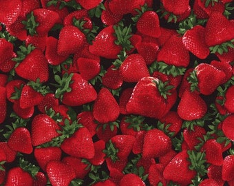 Timeless Treasures - Strawberries
